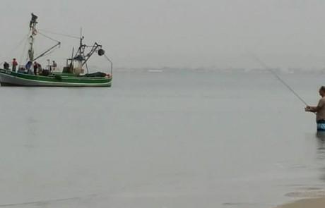 דייגים עובדים
